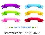 vector cartoon different colors ...