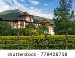 punakha dzong  old monastery... | Shutterstock . vector #778428718