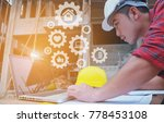 unsafely engineering holding...   Shutterstock . vector #778453108