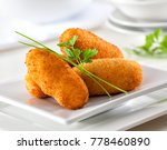 homemade traditional spanish... | Shutterstock . vector #778460890
