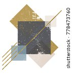 abstract composition of... | Shutterstock .eps vector #778473760