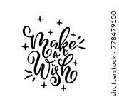 merry christmas calligraphy... | Shutterstock .eps vector #778479100