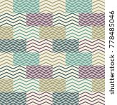 sealess pattern with abstract... | Shutterstock .eps vector #778485046