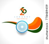 illustration of happy indian... | Shutterstock .eps vector #778489459