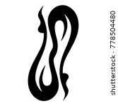 tattoo tribal vector design....   Shutterstock .eps vector #778504480