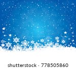 abstract christmas background... | Shutterstock .eps vector #778505860