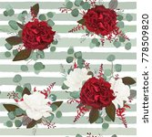 vector seamless floral pattern... | Shutterstock .eps vector #778509820