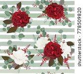 vector seamless floral pattern... | Shutterstock .eps vector #778509820