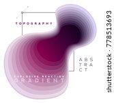 explosive gradient banner... | Shutterstock .eps vector #778513693