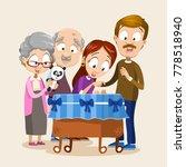 vector illustration of family... | Shutterstock .eps vector #778518940