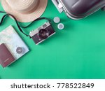 top view travel concept with... | Shutterstock . vector #778522849