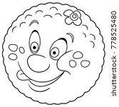 coloring book. coloring page.... | Shutterstock .eps vector #778525480