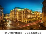 famous state opera in vienna... | Shutterstock . vector #778530538