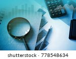 business and financial analysis  | Shutterstock . vector #778548634