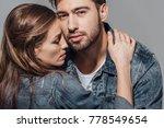 close up portrait of seductive... | Shutterstock . vector #778549654