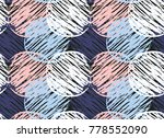 abstract vector colorful... | Shutterstock .eps vector #778552090