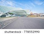 liege  belgium  may 2015. view... | Shutterstock . vector #778552990