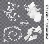 vector set of different groups... | Shutterstock .eps vector #778556176