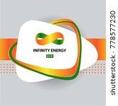concept image infinity. power... | Shutterstock .eps vector #778577230