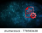 programming concept  pixelated... | Shutterstock . vector #778583638