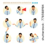 business avatars set .... | Shutterstock .eps vector #778588984