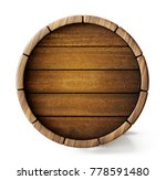 old barrel background isolated... | Shutterstock . vector #778591480