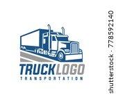 truck trailer logo... | Shutterstock .eps vector #778592140