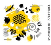 abstract poster trendy art... | Shutterstock .eps vector #778594066