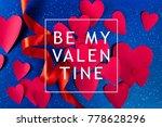 valentine's day background | Shutterstock . vector #778628296