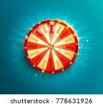 symbol of spinning fortune... | Shutterstock .eps vector #778631926