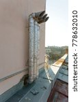 pipe heating and ventilation on ... | Shutterstock . vector #778632010