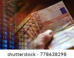 euro banknotes in man hand... | Shutterstock . vector #778638298