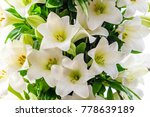Bouquet Of White Lilies....