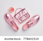 fashion. woman accessories set. ... | Shutterstock . vector #778641514