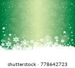 abstract christmas background. | Shutterstock . vector #778642723