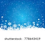 abstract christmas background. | Shutterstock . vector #778643419