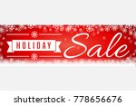 red holiday sale soft focus... | Shutterstock . vector #778656676
