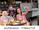 leisure  technology and people... | Shutterstock . vector #778661719