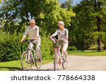 active old age  people and...   Shutterstock . vector #778664338