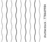 seamless dot pattern | Shutterstock .eps vector #778669984