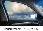 beautiful sky with sun and... | Shutterstock . vector #778675843
