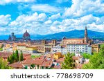 Stock photo florence firenze cityscape italy 778698709