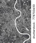 cologne city plan  detailed... | Shutterstock .eps vector #778703650