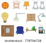 texture of houseplants | Shutterstock .eps vector #778706728