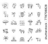 africa jungle ethnic culture... | Shutterstock .eps vector #778708828