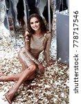 beautiful sexy woman wear... | Shutterstock . vector #778717546