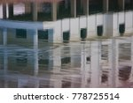 water lake reflection with... | Shutterstock . vector #778725514