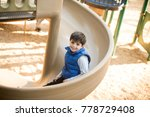 cute child at the playground | Shutterstock . vector #778729408