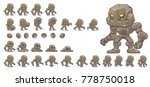 Golem Game Character For...