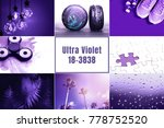 collage inspired by color of... | Shutterstock . vector #778752520